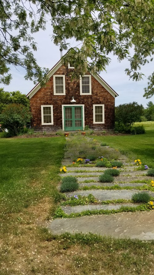 sweet cottage at tarrnation flower farm