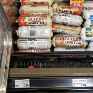 Goetta at Kroger